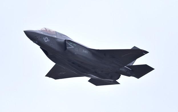 岩国基地から飛び立ったVMFA122グリーンナイツ F35Bライトニング(2)。。 20180321