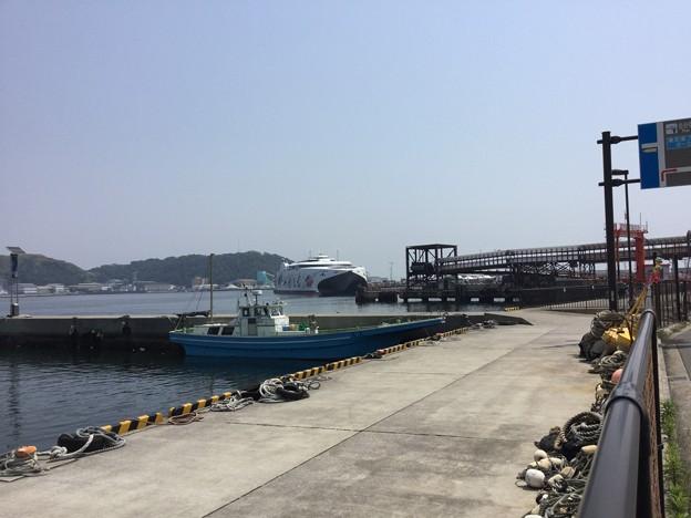 Photos: 撮って出し。。ナッチャンWorld久里浜港寄港イベント 5月27月