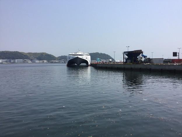 撮って出し。。ナッチャンWorld船内一般公開で行って来ました 5月27日