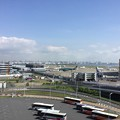 Photos: 撮って出し。。山口県遠征前の朝の羽田空港風景 6月2日