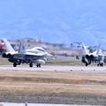 写真: 岩国基地。。米海兵隊F/A18DホーネットVMFA533ホークス2機 帰投 20180322
