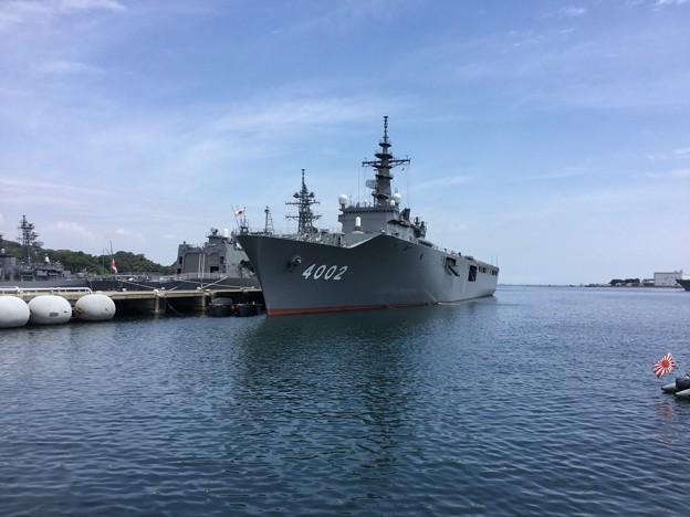 Photos: 撮って出し。。呉の輸送艦しもきた 6月9日
