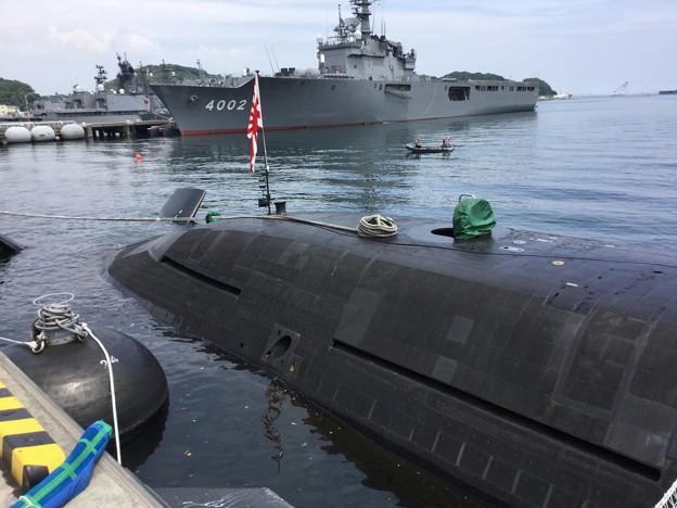 撮って出し。。潜水艦こくりゅうへ YYよこすかのりものフェスタ 6月9日