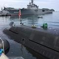 写真: 撮って出し。。潜水艦こくりゅうへ YYよこすかのりものフェスタ 6月9日