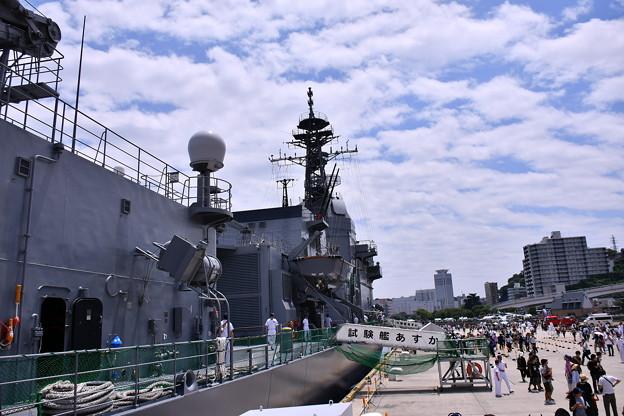 撮って出し。。一般公開された試験艦あすか YYよこすかのりものフェスタ 6月9日