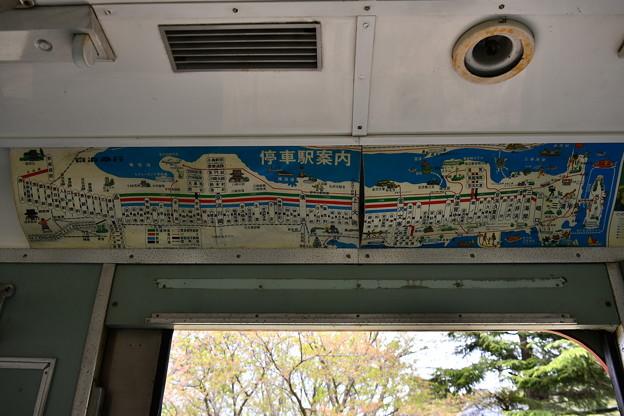 旧600系の当時のままの京急路線図。。昔は京急でなく京浜 20180407