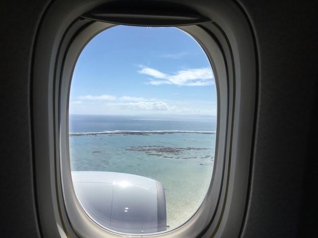 撮って出し。。翌日まで台風の影響で大雨だった沖縄は青空 6月17日