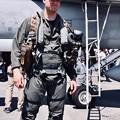 写真: 厚木基地開放。。ロイヤルメインのマッドデイモン似のパイロットさん 20180421