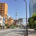 写真: 亀戸散歩して。。東京スカイツリー見える町 20180422
