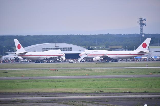 撮って出し。。これが最初で最後の2機シグナス地上展示 7月22日