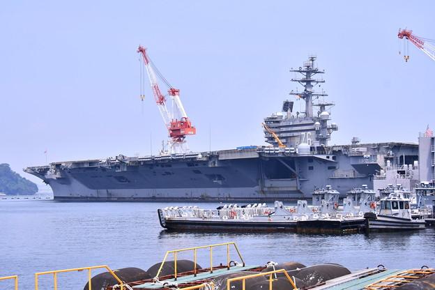 撮って出し。。米海軍横須賀基地 空母見学へ 8月4日