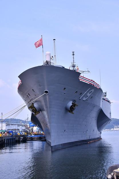 撮って出し。。今年は夏公開贅沢な揚陸指揮艦ブルーリッジも 8月4日