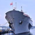 Photos: 撮って出し。。今年は夏公開贅沢な揚陸指揮艦ブルーリッジも 8月4日