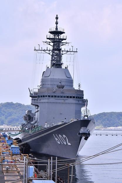 撮って出し。。米海軍横須賀基地内で一般公開 試験艦あすか 8月4日