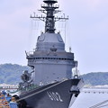 写真: 撮って出し。。米海軍横須賀基地内で一般公開 試験艦あすか 8月4日
