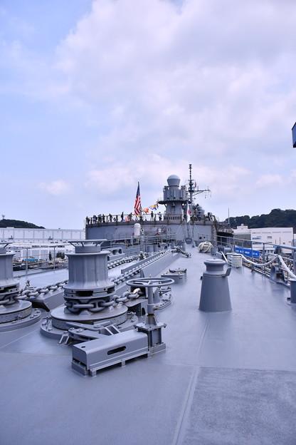 撮って出し。。ヨコスカフレンドシップデー米海軍横須賀基地 艦船見学あすかから見るブルーリッジ 8月4日