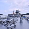 写真: 撮って出し。。ヨコスカフレンドシップデー米海軍横須賀基地 艦船見学あすかから見るブルーリッジ 8月4日