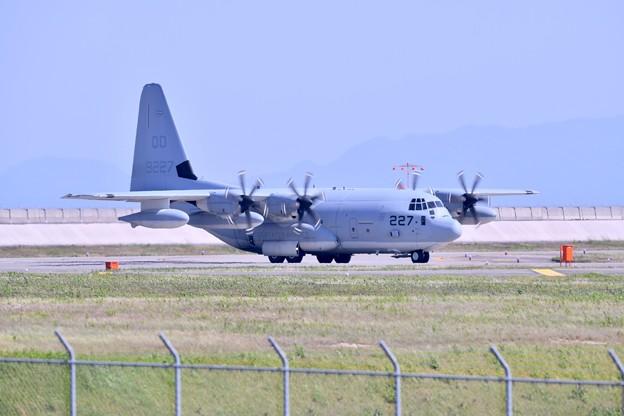 岩国基地。。予行練習総合デモ飛行KC130ハーク 20180503