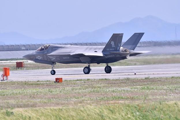 岩国基地フレンドシップデー予行F35B 機動飛行(1) 20180504
