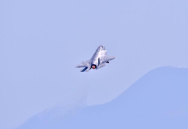 岩国基地フレンドシップデー予行F35B 機動飛行(2) 20180504