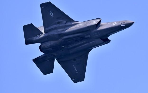 岩国基地フレンドシップデー予行F35B 機動飛行(3) 20180504