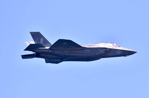 岩国基地フレンドシップデー予行F35B 機動飛行(4) 20180504