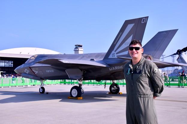 岩国基地フレンドシップデー F35Bライトニングのスペマ機!? 20180505