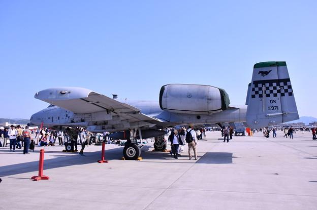 岩国基地フレンドシップデー 在韓米軍オーサンの米空軍A10サンダーボルト 20180505