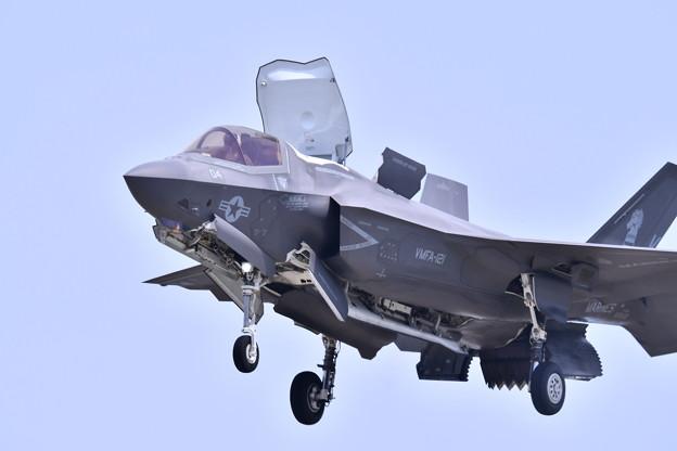 米海兵隊ステルス戦闘機F35B デモ飛行(5) 20180505