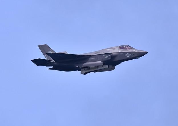 岩国基地 米海兵隊総合演習 対地攻撃F35B 投下作戦