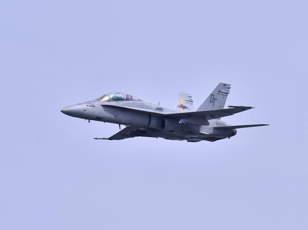 岩国基地 米海兵隊総合演習 対地攻撃F/A18