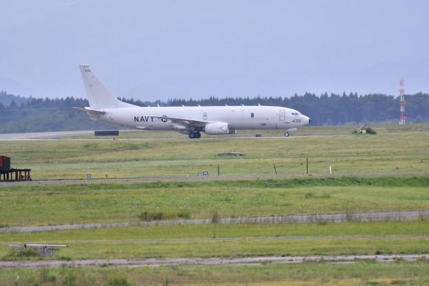 撮って出し。。三沢基地航空祭前日 どこからか帰って来たP-8ポセイドン帰投 20180908