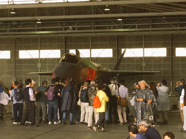 撮って出し。。国内初公開航空自衛隊のF35Aライトニング 地上展示 20180909
