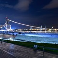 大さん橋 桟橋から賑わう風景。。護衛艦いずも 20180601