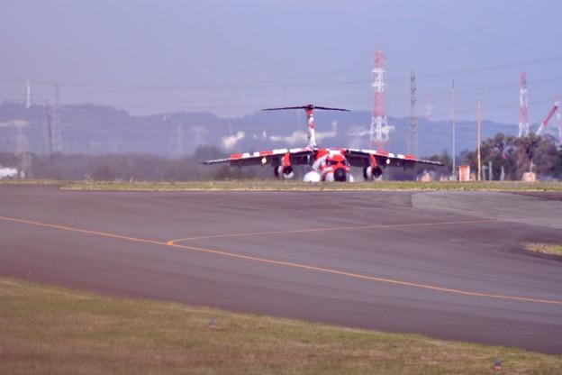 撮って出し。。入間基地 航空祭予行練習 スペマ機歌舞伎塗装C-1 10月28日