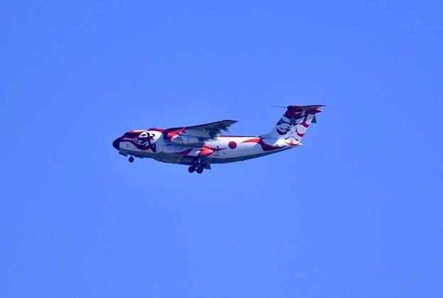 撮って出し。。入間基地 航空祭予行練習 スペマ機歌舞伎塗装C-1(2) 10月28日