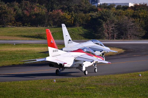 撮って出し。。入間基地航空祭 オープニングはスペマ機T4 11月3日