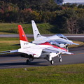 Photos: 撮って出し。。入間基地航空祭 オープニングはスペマ機T4 11月3日