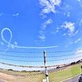 Photos: 撮って出し。。ブルーインパルス入間の空飛ぶ 11月3日