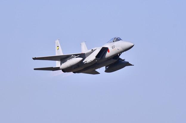 撮って出し。。入間基地航空祭 小松へ帰投 F15 11月3日