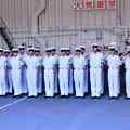 Photos: 一般公開された護衛艦ひゅうがへ海上自衛隊学生さん 20180602