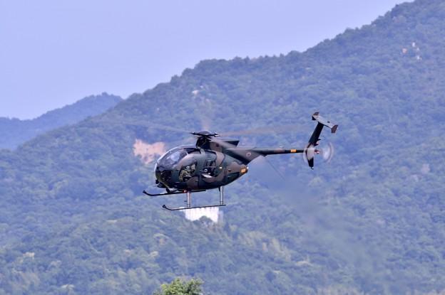 陸自ヘリOH1の機動飛行(1)
