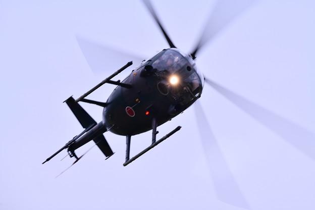 陸自ヘリOH1の機動飛行(2)