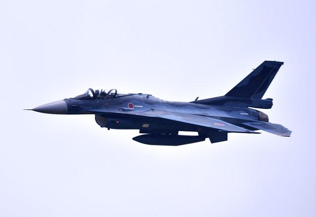 いつか防府基地からF2乗り。。築城基地のF2 ハチスコ華麗な機動飛行 (1)
