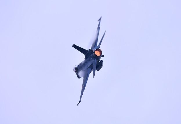 いつか防府基地からF2乗り。。築城基地のF2 ハチスコ華麗な機動飛行 (4)