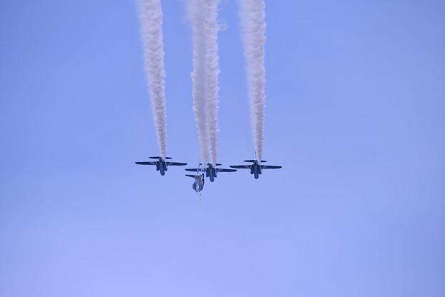 防府基地航空祭 ブルーインパルス レターエイトへ。。