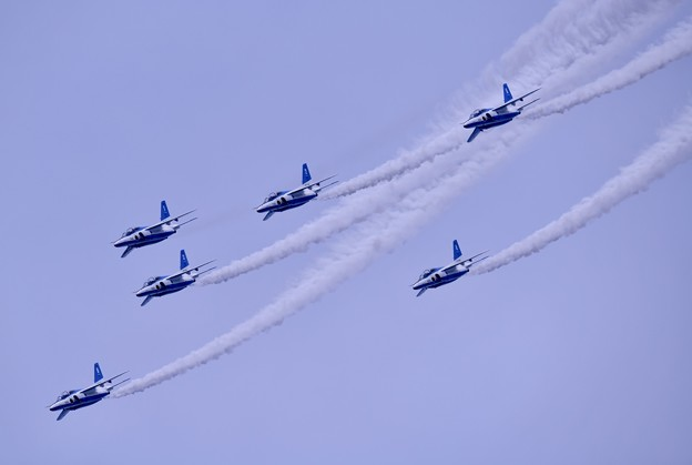 防府基地航空祭 ブルーインパルス フェニックスループ(2)
