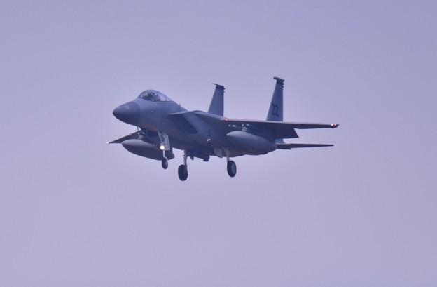 撮って出し。。予定外の外来機 嘉手納のZZイーグル横田飛来 11月17日