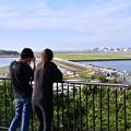 Photos: 夕暮れの瀬長島から那覇空港眺めて 20180617