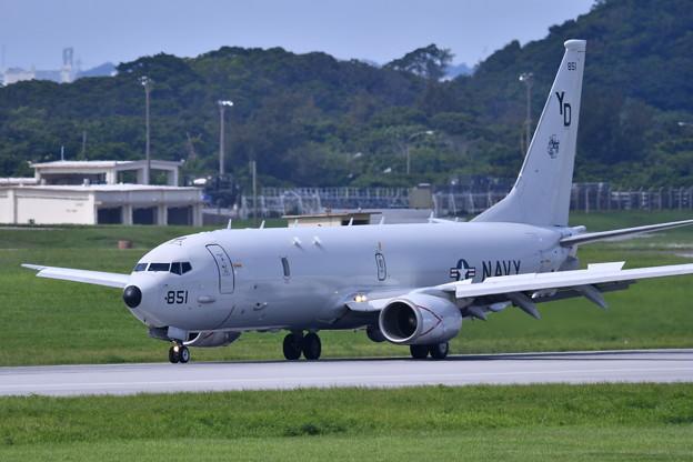 沖縄遠征 嘉手納基地 P-8Aポセイドン 20180618